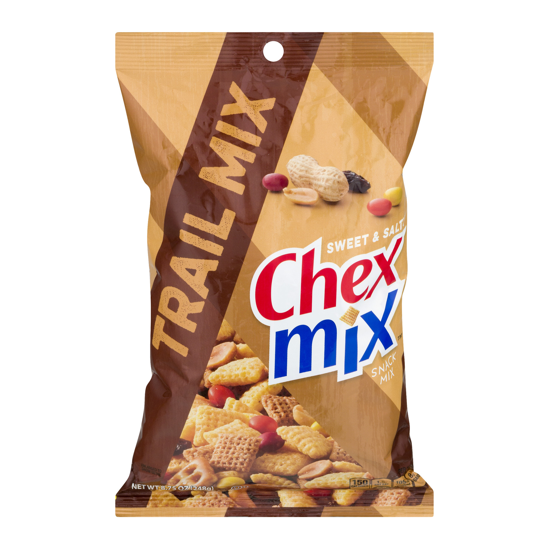 (2 Pack) Chex Mix Snack Mix Trail Mix, 8.75 oz Bag