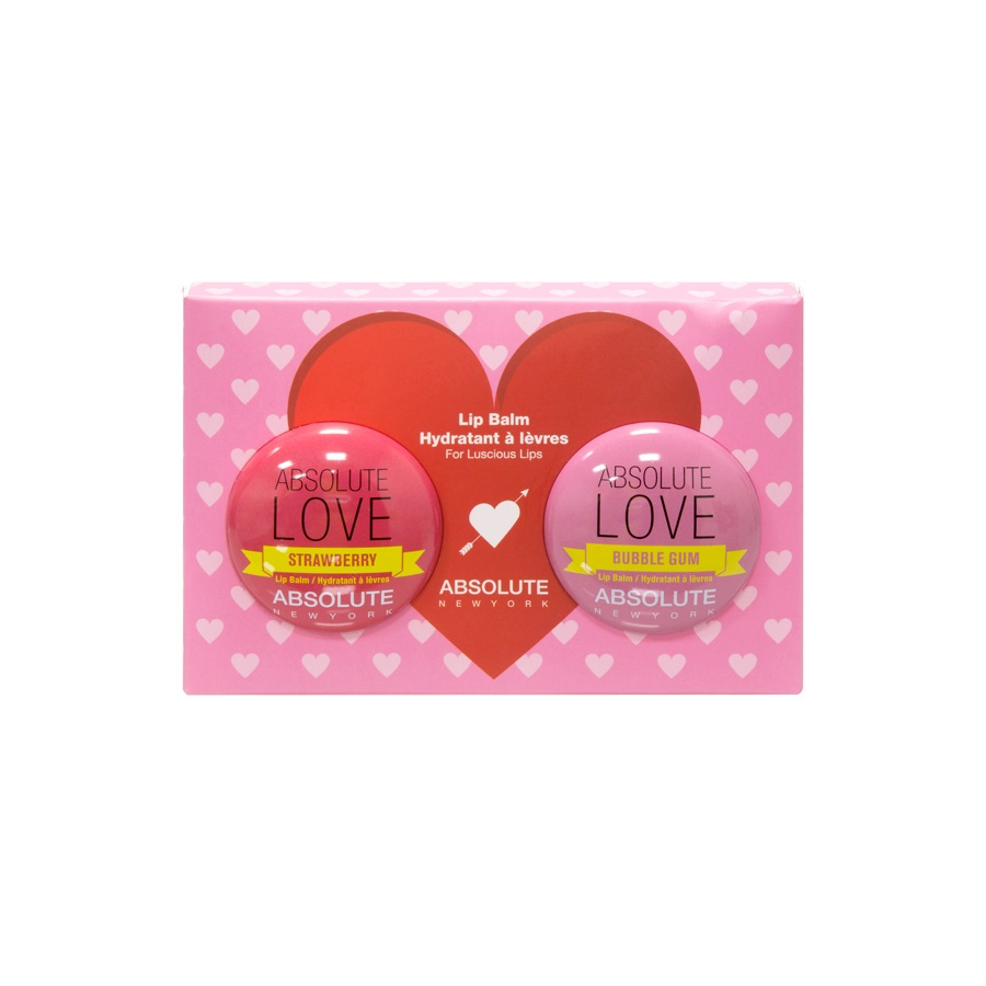 Image of Absolute LOVE Lip Balm - Strawberry and Bubble Gum Set
