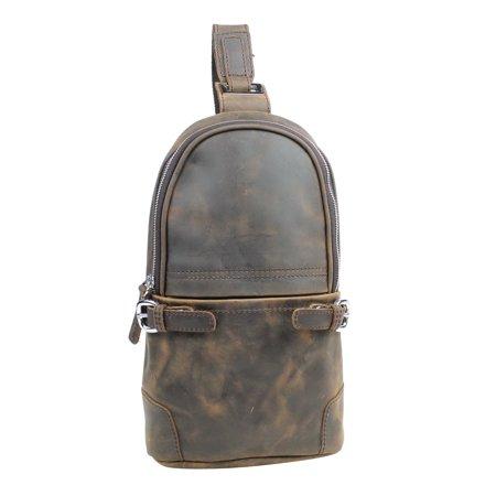 Vagarant Traveler Cowhide Leather Chest Pack Travel Companion LK08.VD Organized Travelers Leather