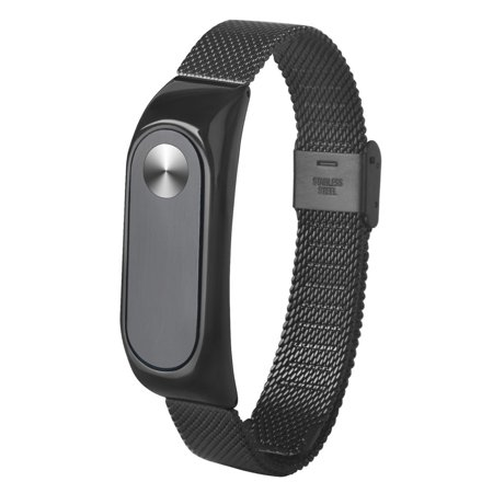 New Fashion Light Weight Stainless Steel Smart Wrist Watch Strap For Xiaomi Miband 2