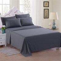 Deals on ONLINE 6 Piece Soft Microfiber Bed Sheet Set Twin