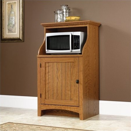 Pemberly Row Microwave Stand in Carolina Oak (Carolina Pr)
