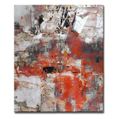 Ready2HangArt Abstract ABS V Wrapped Canvas Wall Art - Walmart.com