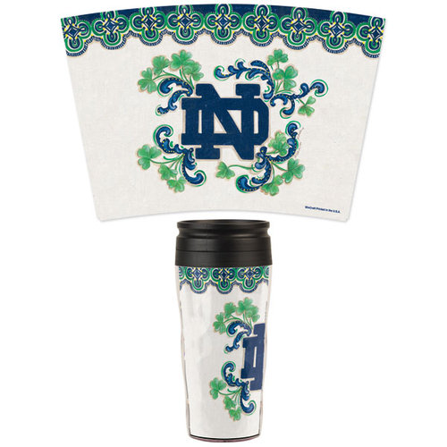 NCAA - Notre Dame Fighting Irish Kate McRostie 16oz Travel Mug