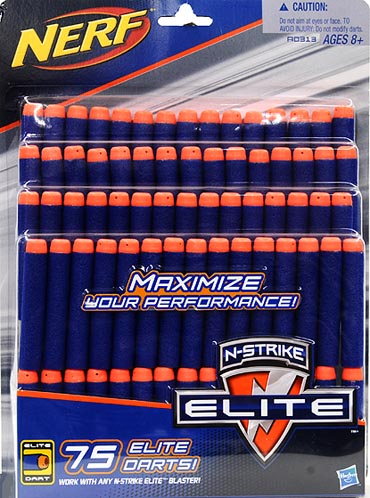 Nerf N-Strike Elite 75 Dart Refill by Hasbro Inc