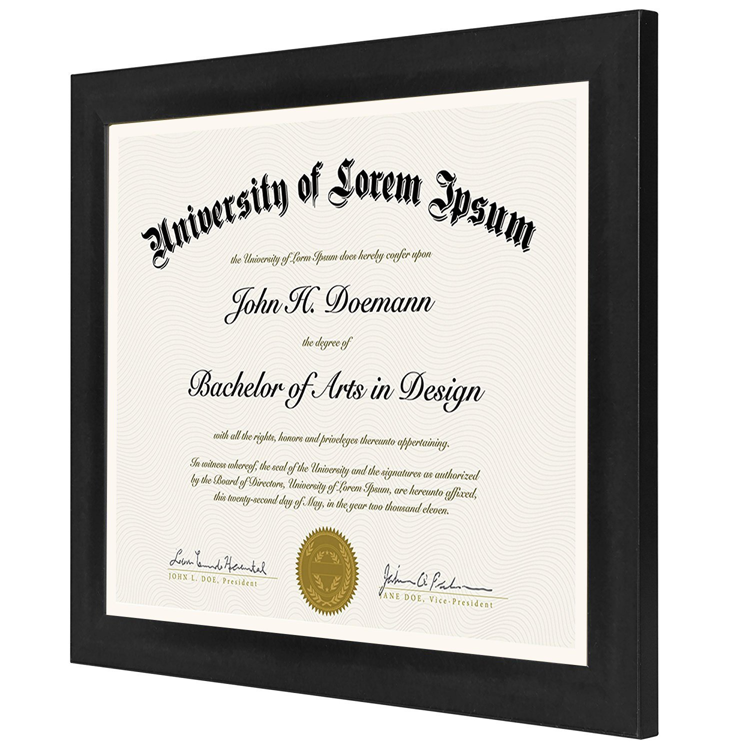 document frame made to display 85x11 inch document frames certificate frames standard paper frame walmartcom