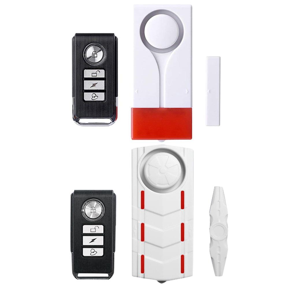 Wsdcam 108db Wireless Anti Theft Vibration Remote Control Door