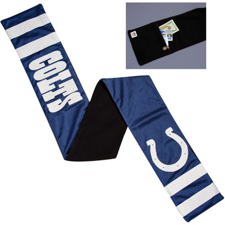 NFL Womens Indianapolis Colts Jersey Scarf by