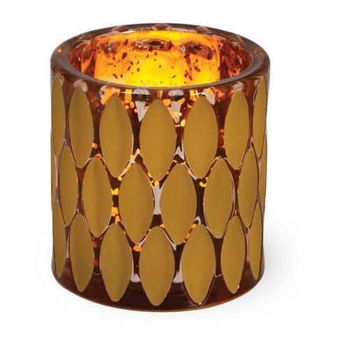 Bloomsbury Market Glass Tea Light Holder (Set of 2)