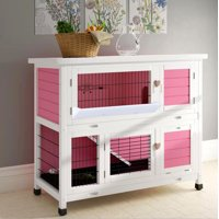 Newacme LLC Lovupet Chicken Coop and Rabbit Hutch