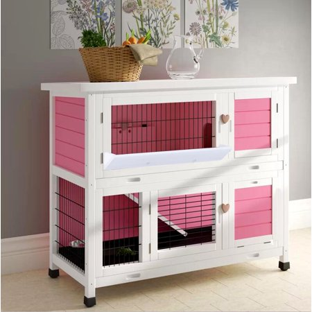 Newacme LLC Lovupet Chicken Coop and Rabbit Hutch ()