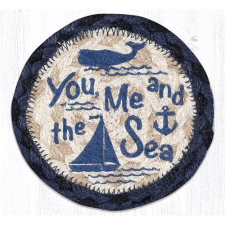 Capitol Importing 31-IC079YMS 5 x 5 in. IC-79 You, Me & the Sea Printed Coaster - image 1 de 1