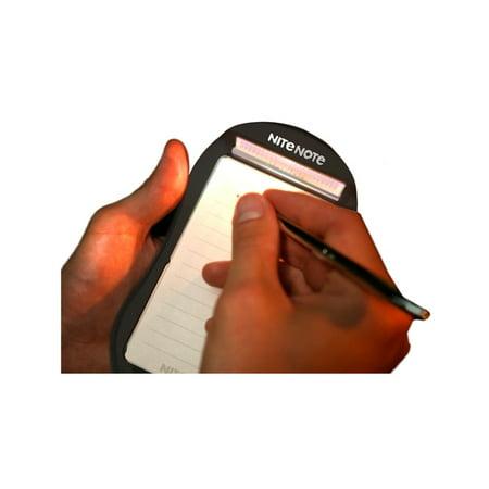 Nite Note Bedside Note Pad - Black w/ Pen