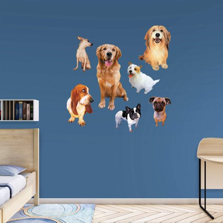 Fathead Dogs Wall Decal