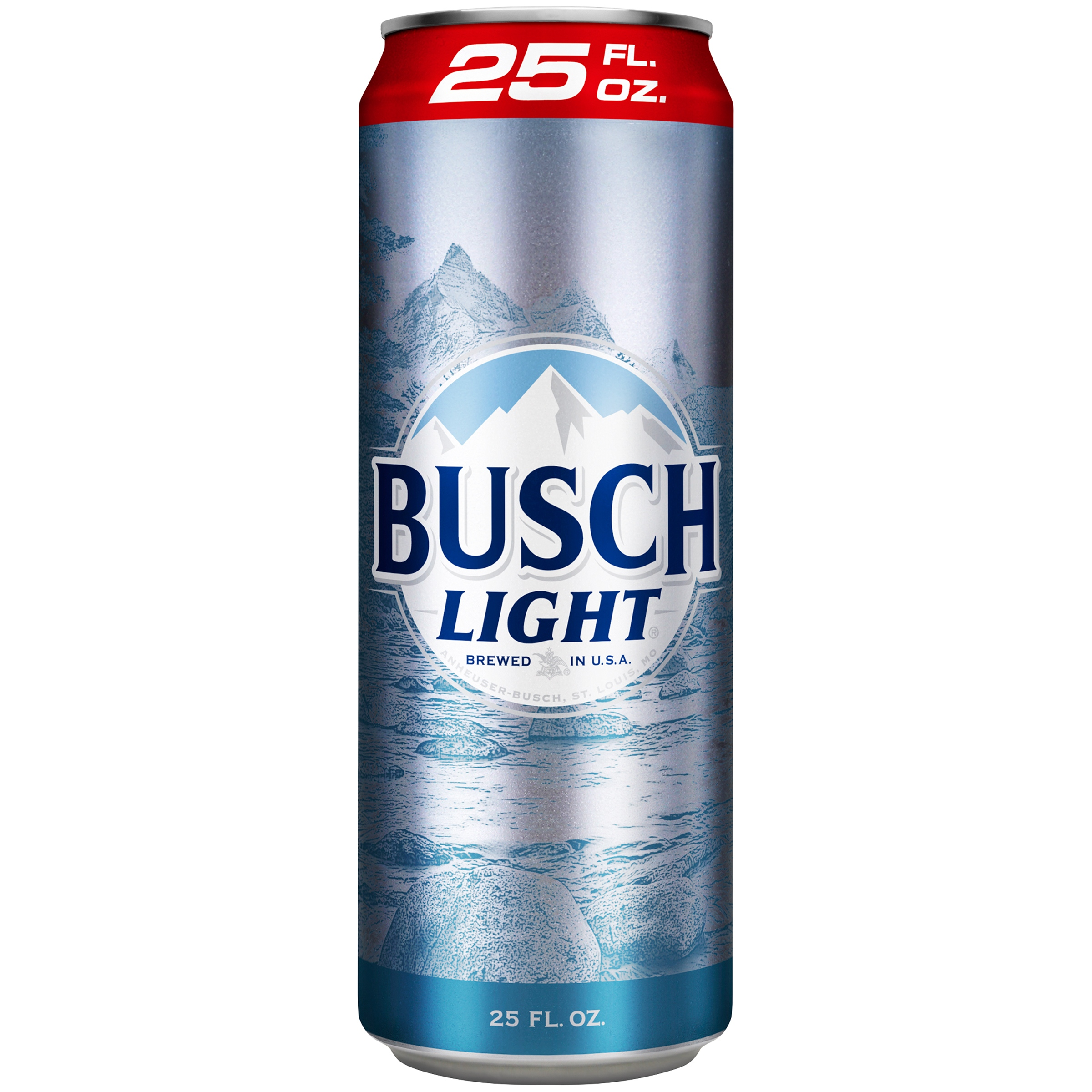 Busch Light Beer, 25 fl. oz. Can