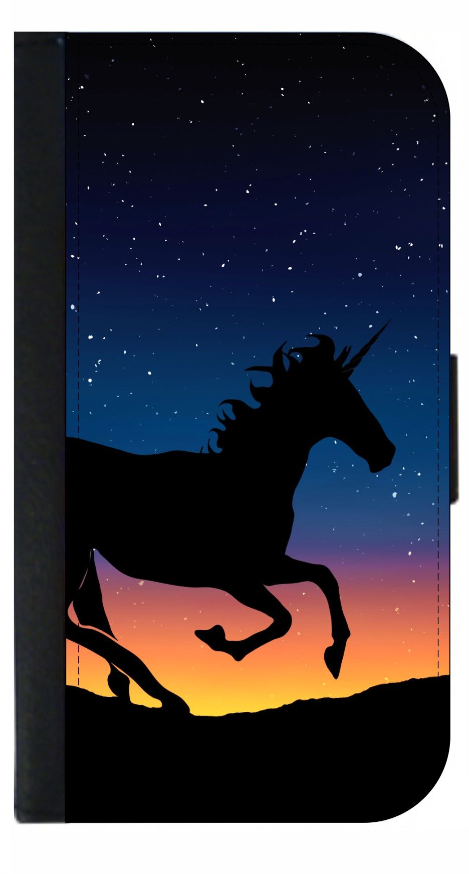 card mailing black Unicorn