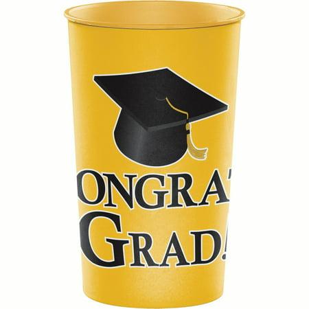 Kitchen Keepsakes - Yellow Graduation Keepsake Cups