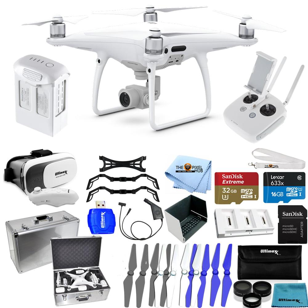 DJI Phantom 4 Pro Quadcopter! MEGA Ready To Fly PRO Accessory Bundle NEW MODEL!