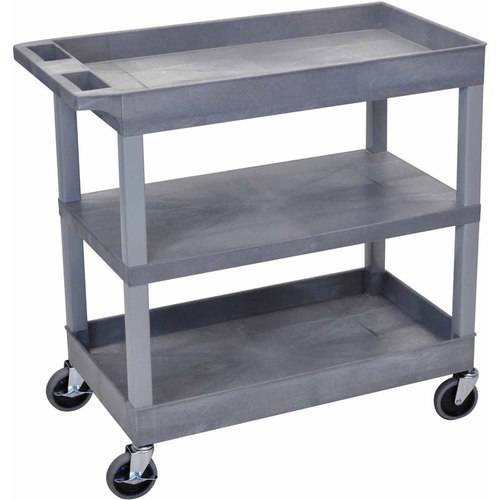 Luxor EC121 18 x 32 Cart with 2 Tub and with 1 Flat Shelf