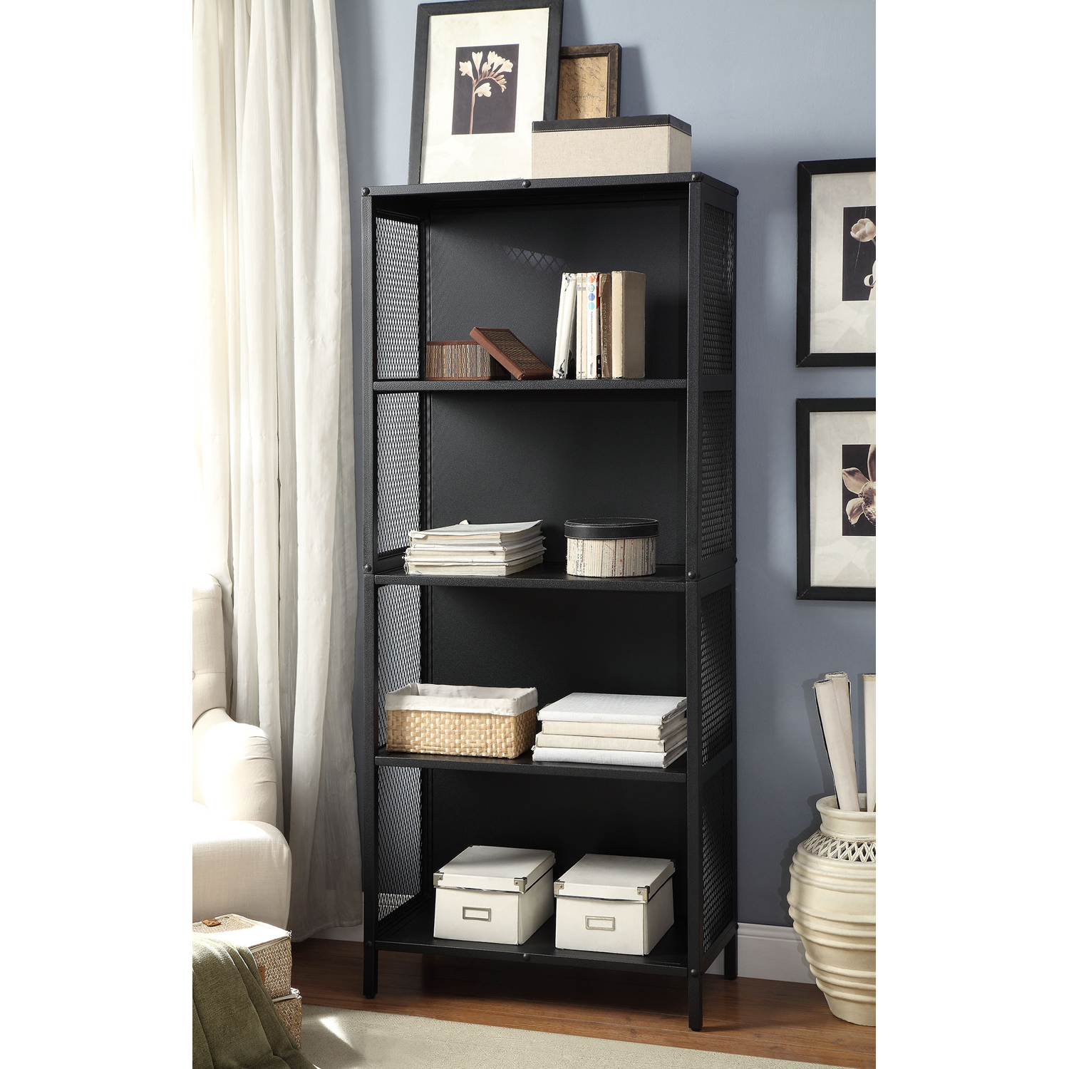 Better Homes and Gardens Industrial Bookcase