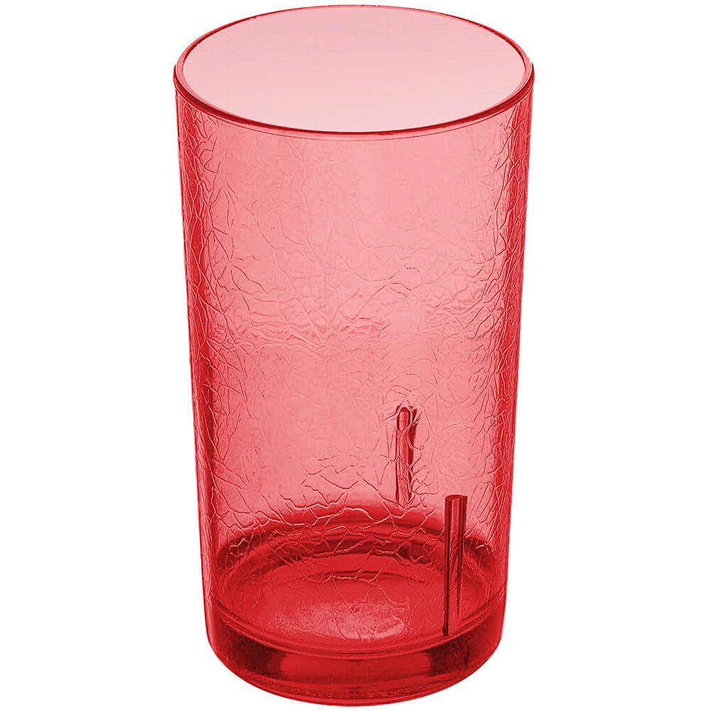 Cambro 12 Oz. Del Mar Tumblers, 36PK, Ruby Red, D12-156