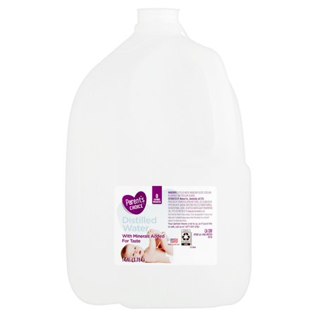 Parent's Choice Distilled Water, 1 gal - Walmart com