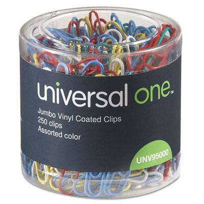 Universal Deluxe Vinyl-Coated Wire Paper Clips