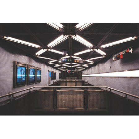 Nyc Subway Token (LAMINATED POSTER Urban NYC Station Transportation Subway Poster Print 11 x)