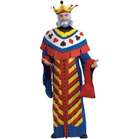 Playing Card King Adult Halloween Costume - Adult Halloween Cards