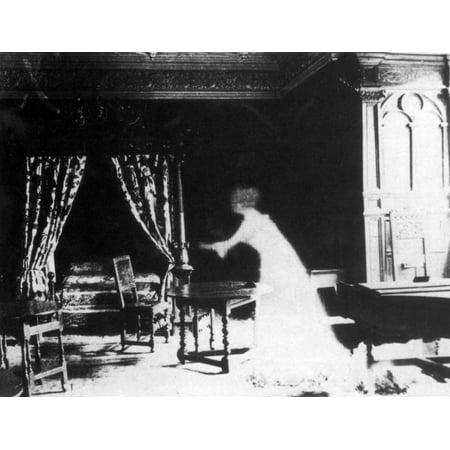 Victorian Ghost 19th Century Rolled Canvas Art - Science Source (24 x 18) 19th Century Victorian Era