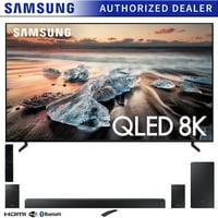 """Samsung QN82Q900RB 82"""" Q900 QLED Smart 8K UHD TV (2019 Model) with Samsung HW-N950 7.1.4-Channel Basic Soundbar"""