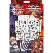 Cra-Z-Art Bakugan Battle Brawlers Tattoos and Stickers