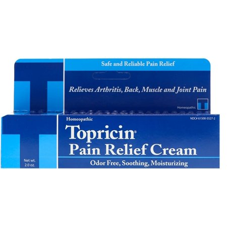 Topricin Anti-Inflammatory Pain Relief Cream, 2