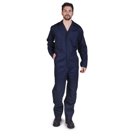 Mens Long Sleeve Coverall, M&M