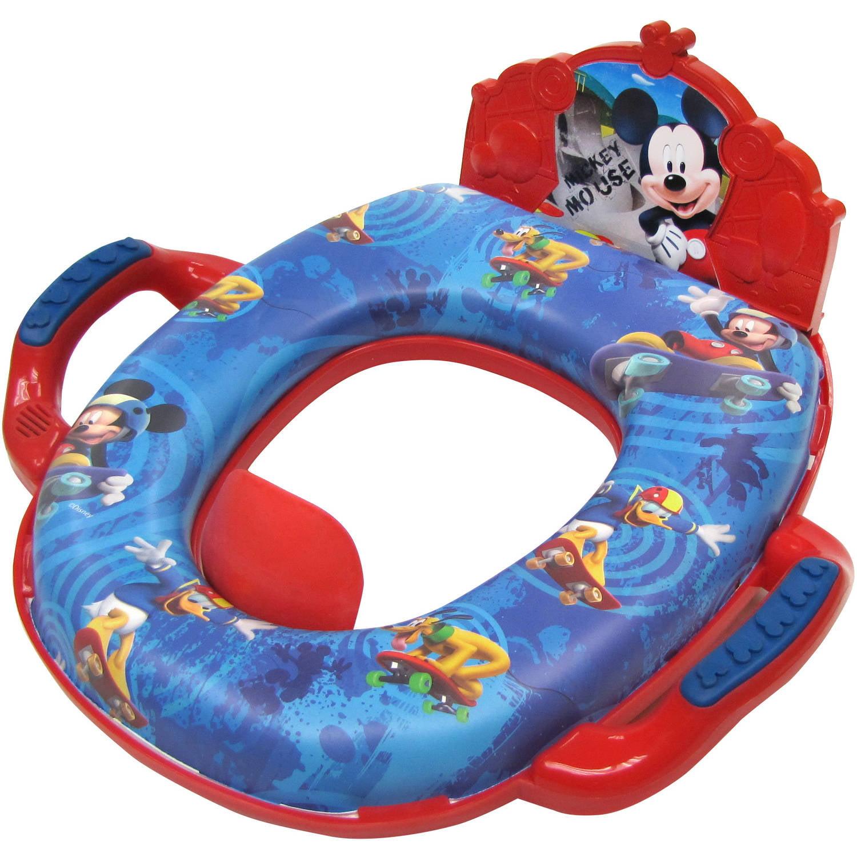 Disney Mickey Mouse Soft Potty with Sound