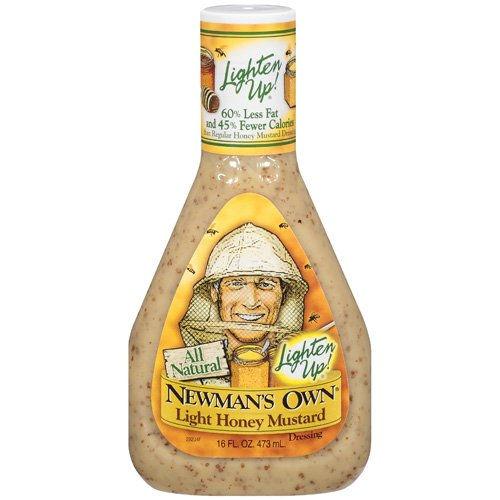 Newman's Own: Light Honey Mustard Dressing, 16 Oz