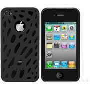 Cellet 1-Piece Proguard for Apple iPhone 4, Black