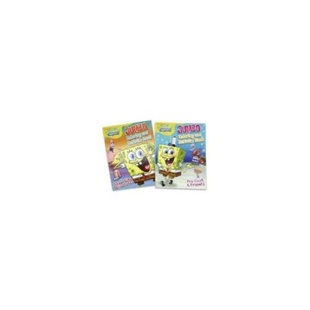 Spongebob Jumbo Coloring and Activity Book - SpongeBob SquarePants ...