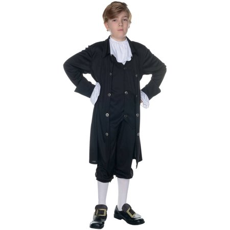 John Adams Boys Child Halloween Costume - John Darling Costume