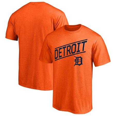Men's Majestic Orange Detroit Tigers Upward Momentum T-Shirt Detroit Tigers Home Accessories