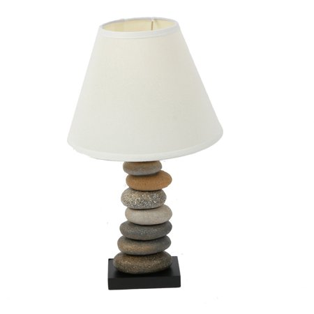 Dennis East International Stone Cairn Table Lamp