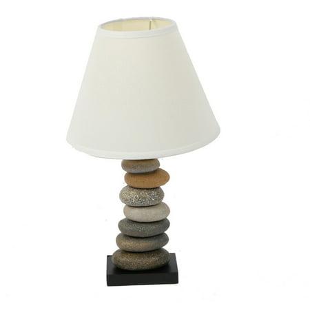 Dennis East International Stone Cairn Table Lamp