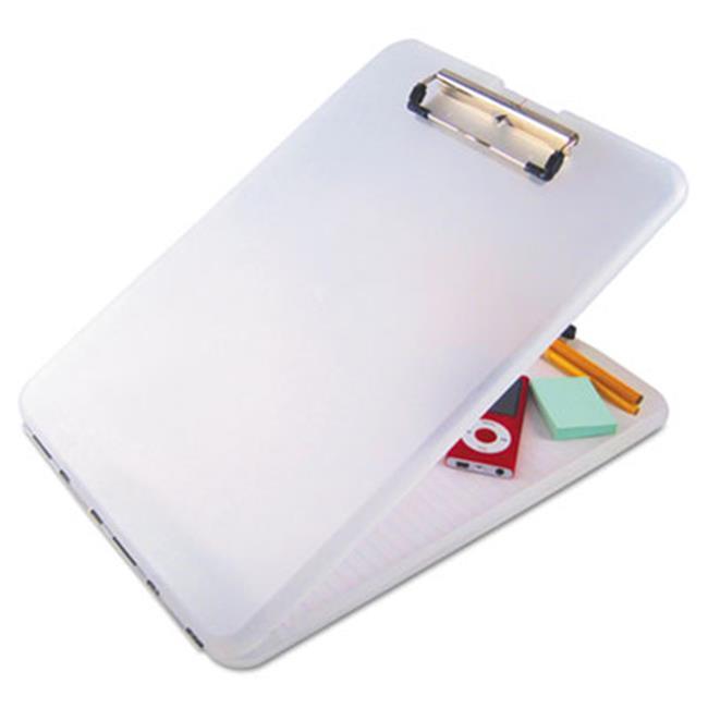 Saunders 00871 SlimMate Storage Clipboard, Clear