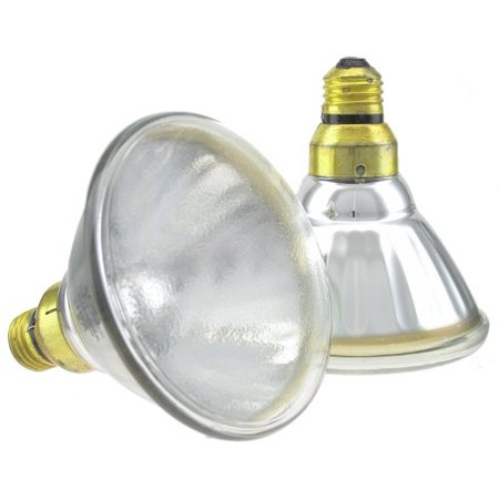 GE 75633 75-Watt Super Saver Halogen PAR38 Spot Light Bulb