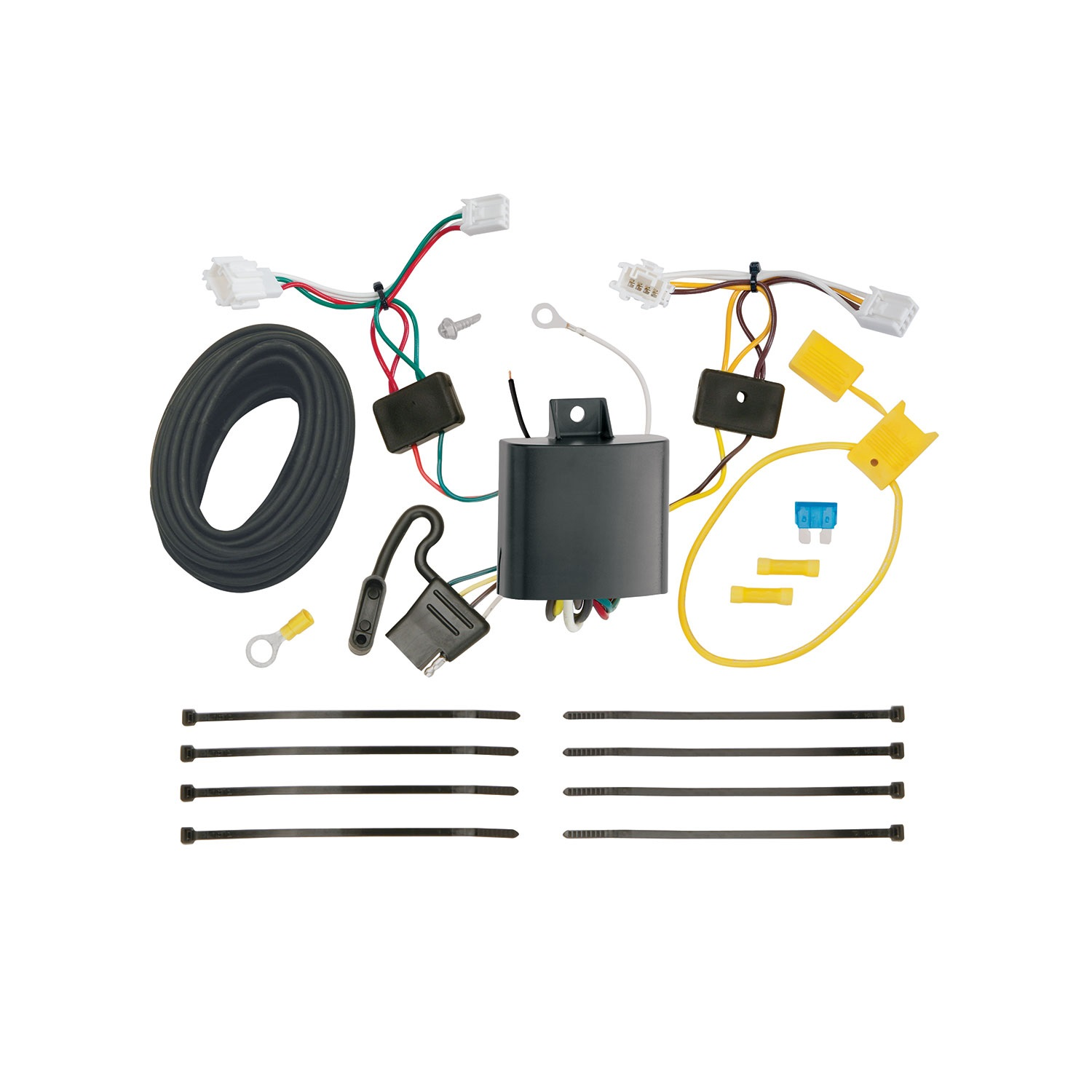 Tekonsha 118673 T-One Connector Assembly; w/Upgraded Circuit Protected ModuLite HD Module;