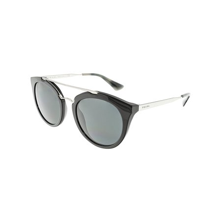 Prada Women's Cinema PR23SS-1AB1A1-52 Black Oval (Sun Glasses Prada)