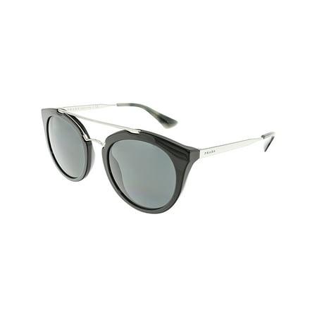 Wholesale Prada Sunglasses (Prada Women's Cinema PR23SS-1AB1A1-52 Black Oval Sunglasses )