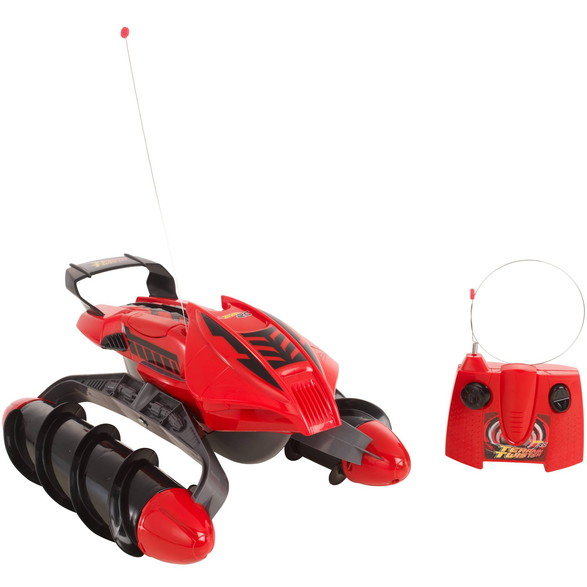 Hot Wheels Terrain Twister Vehicle, Red