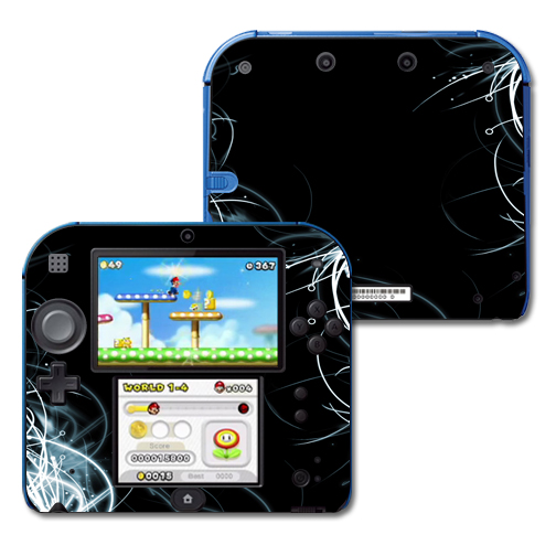 Mightyskins Protective Vinyl Skin Decal Cover for Nintendo 2DS wrap sticker skins Light Up