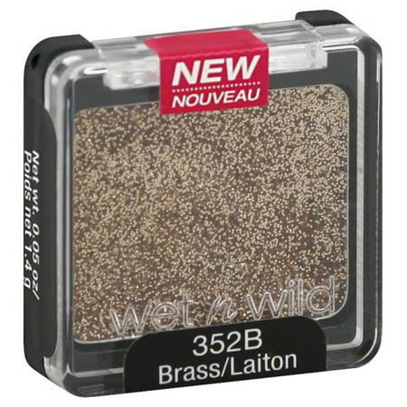 Wet N Wild Coloricon Eyeshadow Single 352B Brass, 0.05 Oz